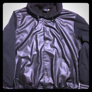 Other - Men's Hooded Jacket Fur-Lined Jacket Men's XXL